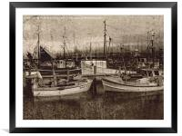Peace And Quiet Effect , Framed Mounted Print