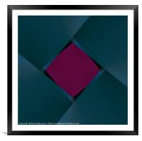 Shapemill , Framed Mounted Print