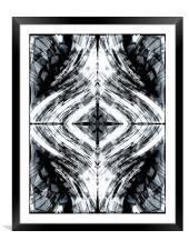 Energy Flow, Framed Mounted Print