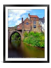 """""""Old Chantry Chapel buildings """", Framed Mounted Print"""