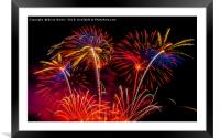 Fireworks!, Framed Mounted Print