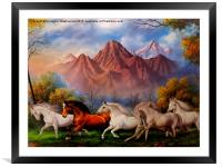 A nice painting,, Framed Mounted Print