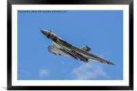 Avro Vulcan XH558, Framed Mounted Print
