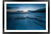 Simply Blues, Framed Mounted Print