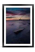 The Light After The Darkness, Framed Mounted Print
