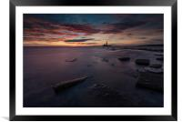 A Rise In Colour, Framed Mounted Print