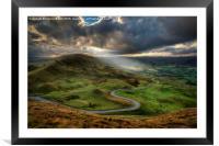 Snake Pass, Framed Mounted Print