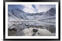 Frozen, Framed Mounted Print