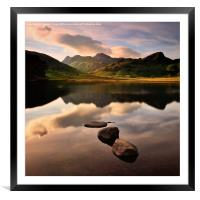 Great Langdale, Framed Mounted Print