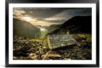 Mountain Refuge , Framed Mounted Print