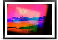 Mudeford Bay Prism III, Framed Mounted Print