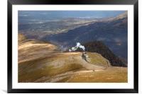 Snowdon Mountain Railway, Framed Mounted Print