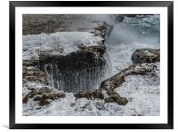 Shete Boka National park Curacao views, Framed Mounted Print