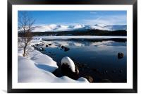 Winter Views at Aviemore, Framed Mounted Print