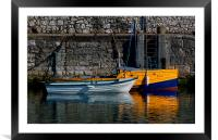 Carnlough Harbour, Framed Mounted Print
