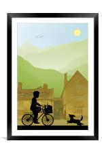 Childhood Dreams, Special Delivery, Framed Mounted Print