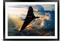 2015 The Last Flight of XH558, Framed Mounted Print