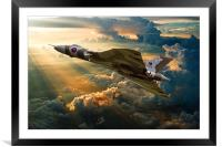 Majestic Flight, Framed Mounted Print