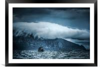 Before the storm, Framed Mounted Print