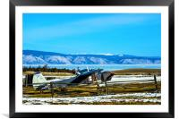 A plane is not a luxury, Framed Mounted Print