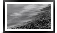 On the shore, Framed Mounted Print