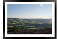 Hope Valley Landscape, Framed Mounted Print