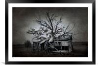 Gloom and Doom, Framed Mounted Print