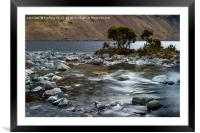 Country River, Framed Mounted Print