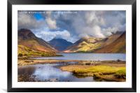 Landscape of Cumbria, Framed Mounted Print