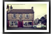 Aidensfield Store (Goathland), Framed Mounted Print