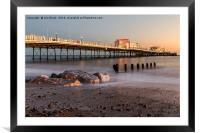 Worthing Pier, Framed Mounted Print