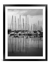 Shoreham Yacht Club, Framed Mounted Print