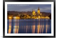 Truro Cathedral , Framed Mounted Print