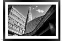 The Shard, London, Framed Mounted Print