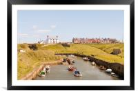 Harbour View, Framed Mounted Print