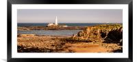 Our rugged coastline, Framed Mounted Print