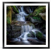 Falls at Hardcastle Crags, Framed Mounted Print