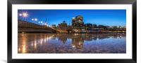 Sunrise Reflections, Framed Mounted Print
