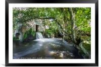 Stowford Manor Farm, Framed Mounted Print