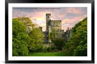 Hornby Castle, Framed Mounted Print