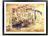 All The Fun Of The Fair, Framed Mounted Print