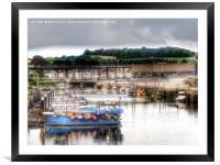 Hayle Harbour Cornwall, Framed Mounted Print