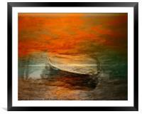 Sail away, sail away, sail away , Framed Mounted Print