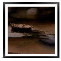 A Coffee Coloured Dream, Framed Mounted Print