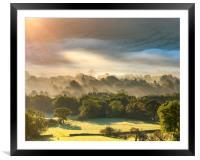 Edale sunrise, Peak District, Derbyshire, Framed Mounted Print