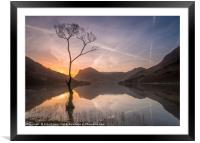 Buttermere Dawn, Framed Mounted Print