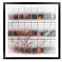 New York Building, Framed Mounted Print