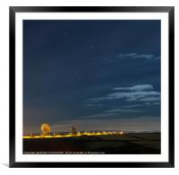 Earth Station, Framed Mounted Print