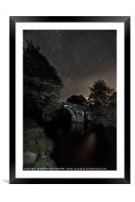 Hexworthy Bridge Dartmoor Devon, Framed Mounted Print