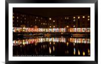 Albert Dock , Framed Mounted Print